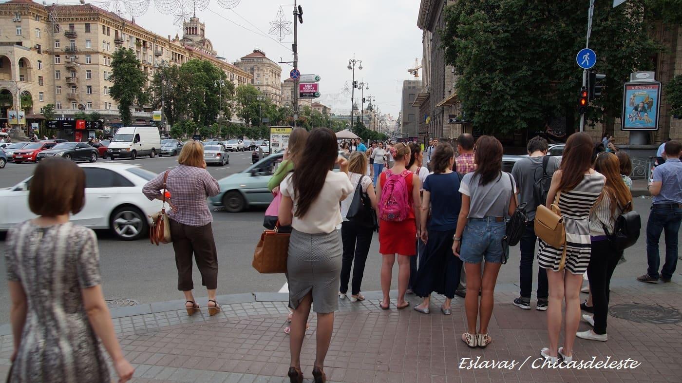 Calle Kreschatik Kiev